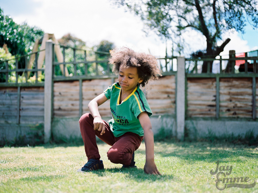 The Smalls, Summer Garden Photography, Portrait Film Photographe