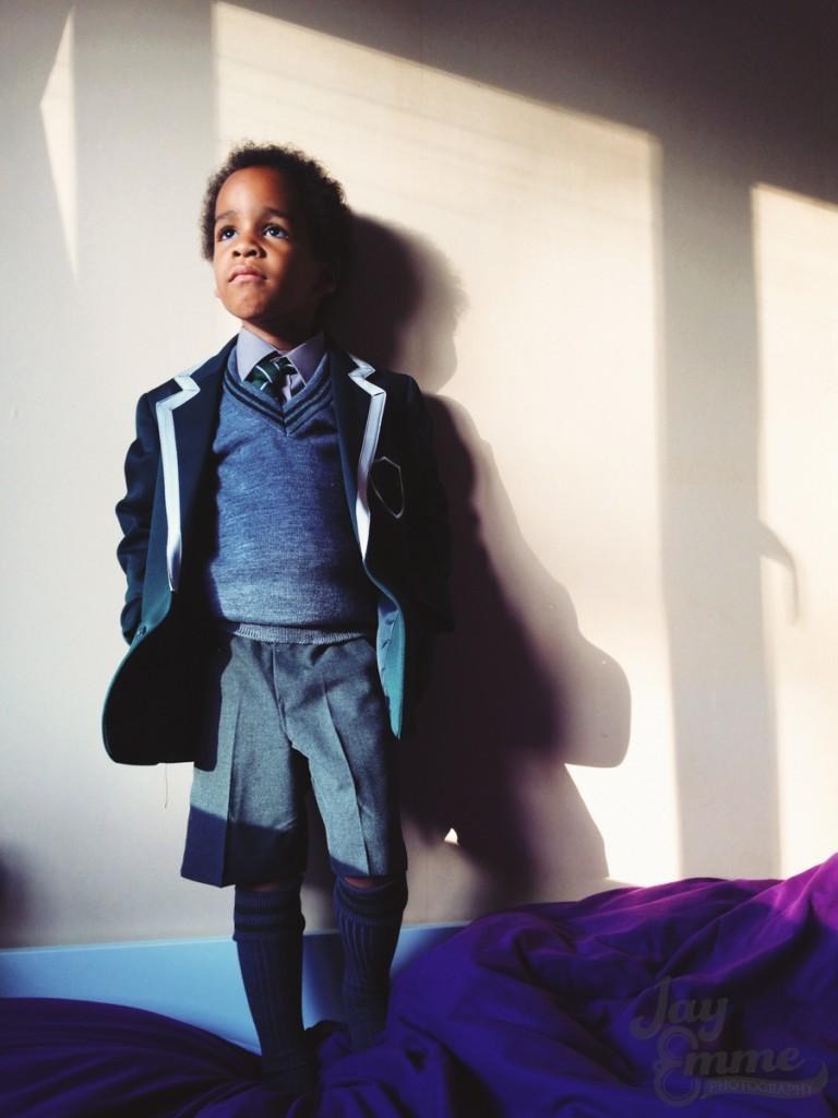 Smalls Start New School, 2nd Sept 2014