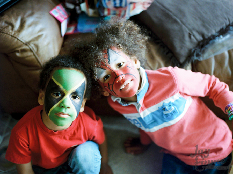 The Smalls, Summer Fun Photography, Portrait Film Photographer,