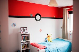 Pokemon Bedroom, Jay Emme Photography