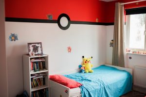 Pokemon Bedroom Ideas, Jay Emme Photography