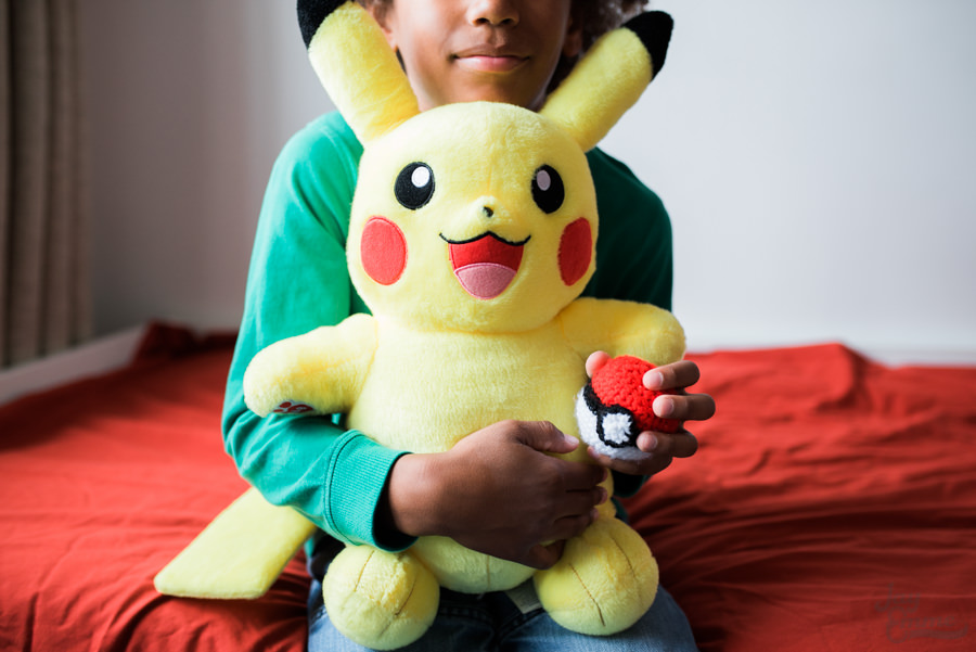 Pokemon Bedroom crochet pokeball, Jay Emme Photography
