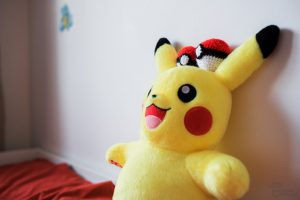 Pokemon Bedroom crochet pokeball, Jay Emme Photography